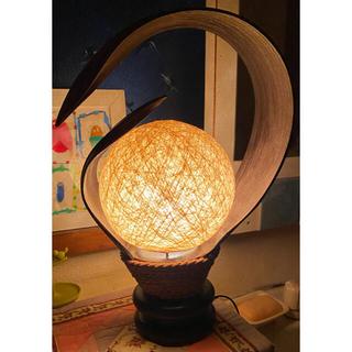 アジアン風の美しいライト コンセント式・*:.。. .。.:*・゜