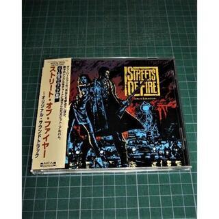 CD ストリート・オブ・ファイヤー サントラ★ ジム・スタインマン(映画音楽)