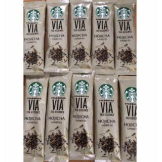 スターバックスコーヒー(Starbucks Coffee)のSTARBUCKS VIA® ティーエッセンス  ほうじ茶 10本(茶)