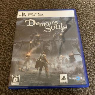 プレイステーション(PlayStation)の【最安値】PS5 Demon's Souls デモンズソウル(家庭用ゲームソフト)