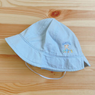ファミリア(familiar)のファミリア パステルブルー 帽子 47cm(帽子)