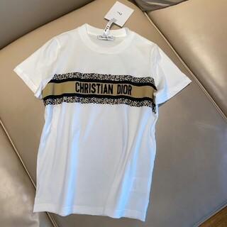 Christian Dior - クリスチャンディオール Christian Dior ヒョウ柄Tシャツ