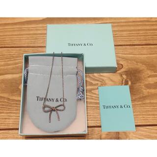 Tiffany & Co. - ✨美品✨レア TIFFANY&Co. ネックレス ツイストリボン シルバー