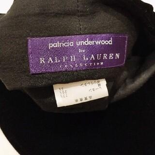 ラルフローレン(Ralph Lauren)のラルフローレン ベロアキャスケット(ハンチング/ベレー帽)