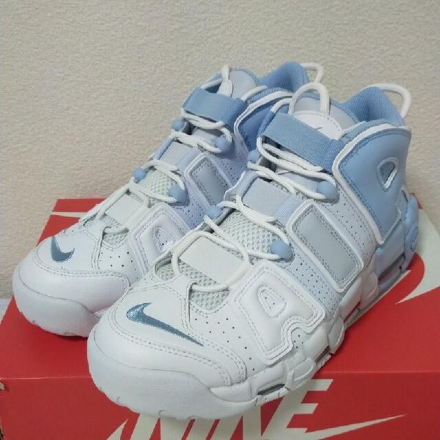 NIKE(ナイキ)の27.5cm NIKE Air more uptempo Sky Blue メンズの靴/シューズ(スニーカー)の商品写真