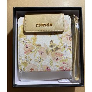 リエンダ(rienda)の【未使用】リエンダ IQOSケース ベージュ 花柄(タバコグッズ)
