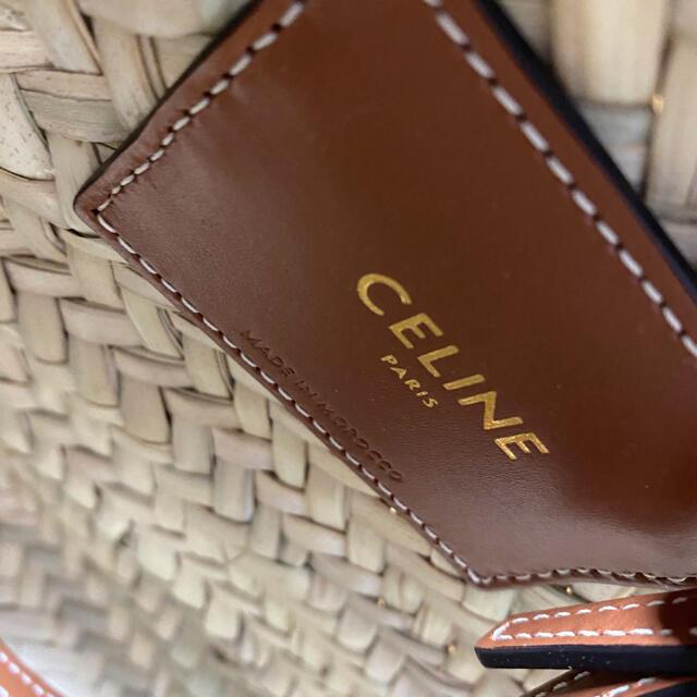 celine(セリーヌ)のティーン トリオンフ パニエ / ラフィア & カーフスキン レディースのバッグ(ショルダーバッグ)の商品写真