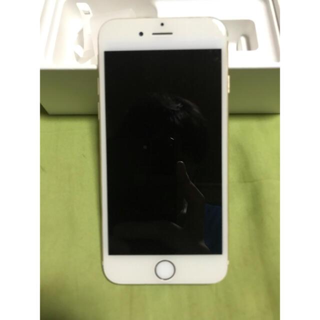 Apple(アップル)のiPhone6 32GB ゴールド ジャンク スマホ/家電/カメラのスマートフォン/携帯電話(スマートフォン本体)の商品写真