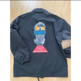 ジーユー(GU)のGU × UNDERCOVERコラボコーチジャケット ブラック L(ナイロンジャケット)