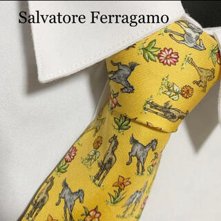 Salvatore Ferragamo - Salvatore Ferragamo ネクタイ 早い者勝ち!