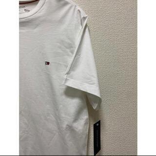 TOMMY HILFIGER - 【新品】Tommy トミーフィルフィガー L 白 半袖 tシャツ ブランド 人気