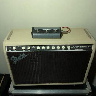 フェンダー(Fender)の調整、真空管交換済 フェンダー コンボアンプ SUPER SONIC 60W(ギターアンプ)