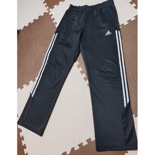 アディダス(adidas)の☆アディダス ジャージパンツ 黒 サイズL ●AJP-308(トレーニング用品)