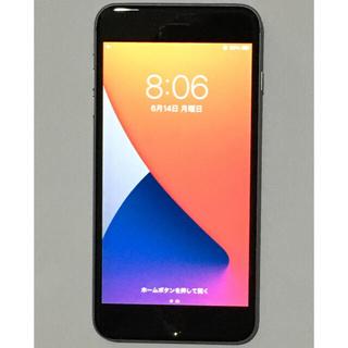 アップル(Apple)のiPhone 6s Plus スペースグレイ 64GB ソフトバンク(スマートフォン本体)
