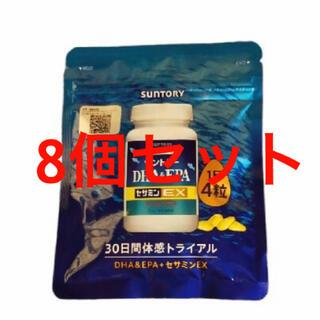 サントリー - サントリー自然のちから DHA&EPA+セサミンEX 8個セット