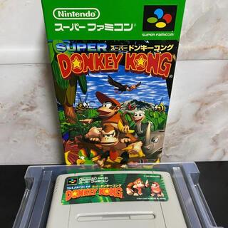 【美品】スーパーファミコン ドンキーコング1.2.3 3本セット(家庭用ゲームソフト)