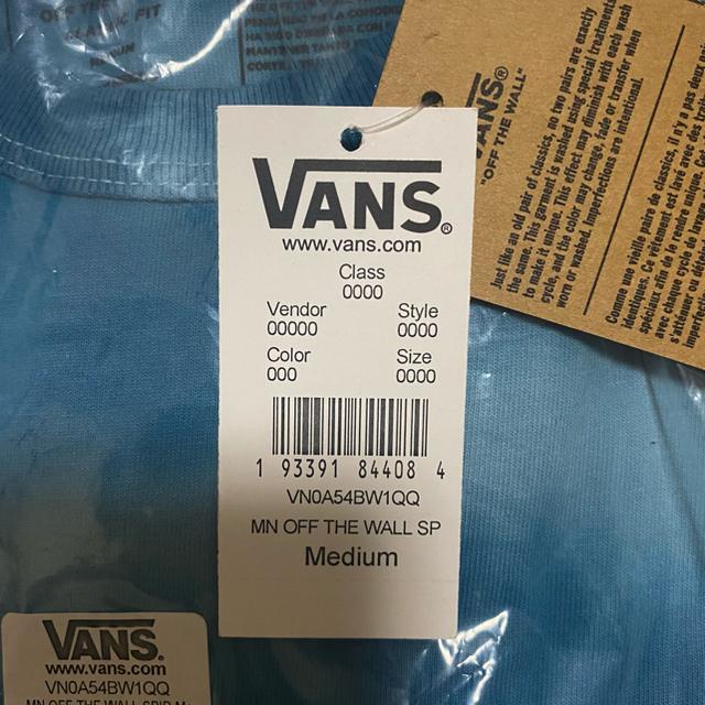 VANS(ヴァンズ)のvans tシャツ 木村拓哉 着用 size M メンズのトップス(Tシャツ/カットソー(半袖/袖なし))の商品写真