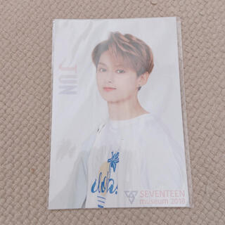 セブンティーン(SEVENTEEN)のseventeen ジュン 2018 ミュージアム ポストカード(K-POP/アジア)