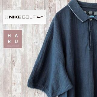 NIKE - ナイキゴルフ ウェア ワンポイントロゴ 袖口ライン