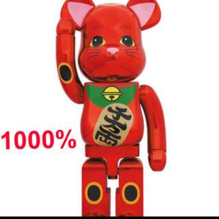 メディコムトイ(MEDICOM TOY)のスパイダーマンさん専用BE@RBRICK 招き猫 梅金メッキ 1000%  (その他)