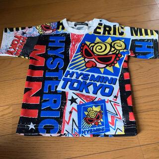 ヒステリックミニ(HYSTERIC MINI)のヒスミニ涼しいメッシュTシャツ90(Tシャツ/カットソー)