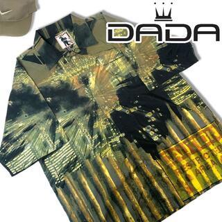 ダダ(DADA)の00s ダダ オープンカラー 半袖シャツ 総柄 XXL Damani DADA (シャツ)