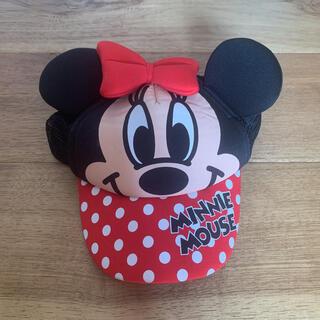 ディズニー(Disney)の【美品】ディズニー ミニーマウス キャップ 帽子 50㎝(帽子)