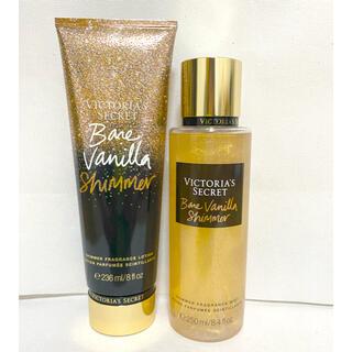 ヴィクトリアズシークレット(Victoria's Secret)のVictoria's secret ♡Bare Vanilla Shimmer♡(香水(女性用))