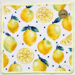 FEILER - 新品☆フェイラー タオルハンカチ レモンドット ホワイト