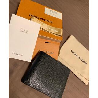 ルイヴィトン(LOUIS VUITTON)のLOUIS VUITTON 二つ折り財布(折り財布)