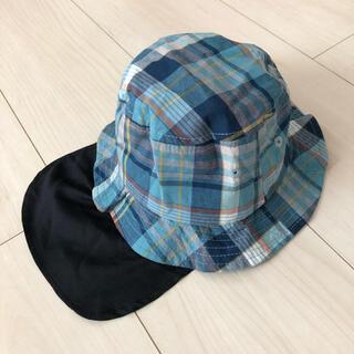 ブランシェス(Branshes)の【新品】ブランシェス ベビー 帽子 ハット 48センチ(帽子)
