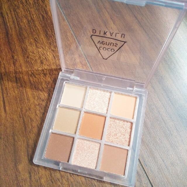 3ce(スリーシーイー)の新色 9色アイシャドウパレット ミルクティーブラウン 03 コスメ/美容のベースメイク/化粧品(アイシャドウ)の商品写真