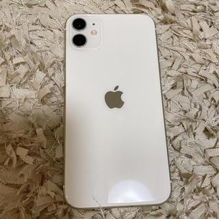 iPhone - iPhone11本体のみ ホワイト 256GB SIMフリー