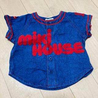 ミキハウス(mikihouse)のミキハウスのデニムシャツ(Tシャツ)