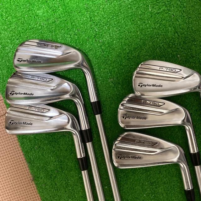 TaylorMade(テーラーメイド)のP790 アイアンセット  テーラーメイド  スポーツ/アウトドアのゴルフ(クラブ)の商品写真