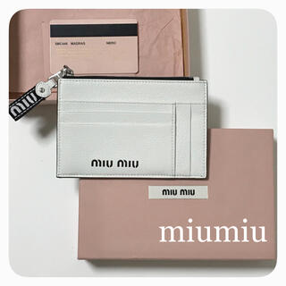 miumiu - miumiu*財布(プラダ、バレンシアガ 、ロエベ、シャネル、セリーヌ、マルニ