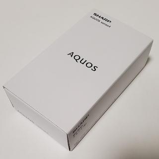 アクオス(AQUOS)の新品 SHARP SIMフリー AQUOS sense4 ブラック SH-M15(スマートフォン本体)