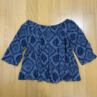 moussy - moussy ペイズリー柄 トップス
