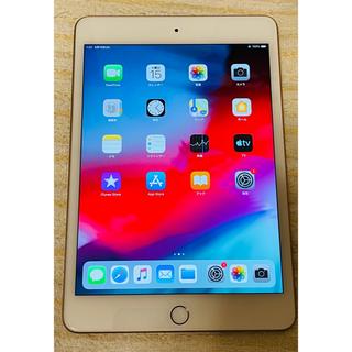 アップル(Apple)の美品iPad mini 5 256GB Wi-Fi モデル ゴールド iOS12(タブレット)