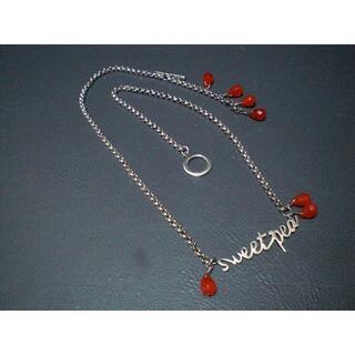 ポールスミス(Paul Smith)のレア ポールスミス ネックレス 赤石 925(ネックレス)