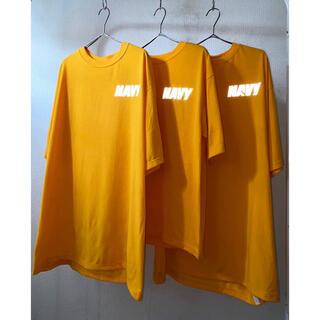 マルタンマルジェラ(Maison Martin Margiela)のdead stock vintage us.navy リフレクター Tシャツ(Tシャツ/カットソー(半袖/袖なし))