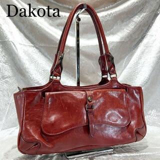 ダコタ(Dakota)のDakota ダコタ ハンドバッグ ボルドー 赤茶 レディース レザー 革 ミニ(ハンドバッグ)