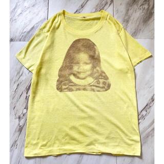 """トーガ(TOGA)のvintage 70s usa製 レトロ """"写真"""" プリント ロゴ Tシャツ(Tシャツ(半袖/袖なし))"""