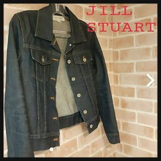 ジルスチュアート(JILLSTUART)のJILL STUART ジル.スチュアート デニムジャケット Gジャン(Gジャン/デニムジャケット)