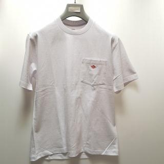 ダントン(DANTON)のDANTON|ダントン ポケット ロゴTシャツ JD-9041  ホワイト(Tシャツ/カットソー(半袖/袖なし))