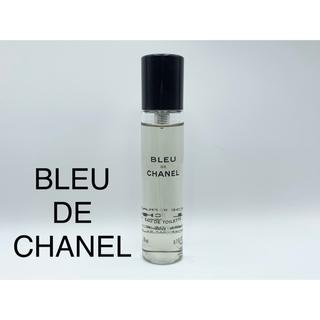 シャネル(CHANEL)のブルー ドゥ シャネル トラベル スプレイ リフィル20ml×1本(香水(男性用))
