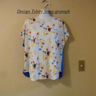 Design Tshirts Store graniph - グラニフ&きくちちきコラボ♡しろねこくろねこTシャツ