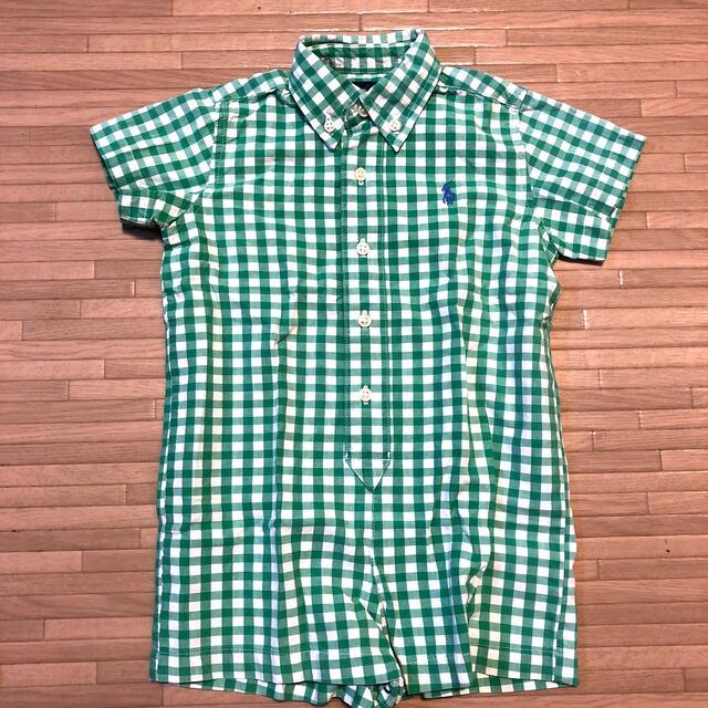 Ralph Lauren(ラルフローレン)のラルフローレン ポロシャツ ロンパース キッズ/ベビー/マタニティのベビー服(~85cm)(ロンパース)の商品写真