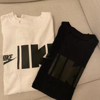 sacai - NIKE sacai ナイキ サカイ ハイブリッド tシャツ半袖Tシャツ