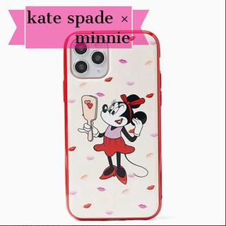 ケイトスペードニューヨーク(kate spade new york)の【kate spade 】ミニーちゃん iPhone case 11pro(iPhoneケース)